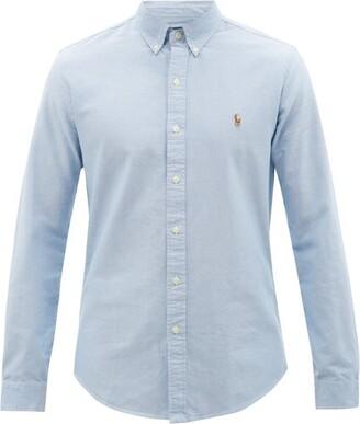 Polo Ralph Lauren Slim-fit Cotton Oxford Shirt - Blue