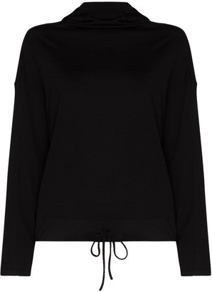 Ernest Leoty Spun Hooded Top