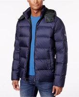 Michael Kors Men's Quilted Hooded Coat