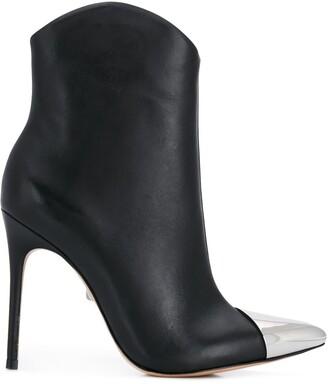 Schutz Rosangela metal toe boots
