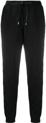 Ermanno Ermanno Side Lace Panel Trousers