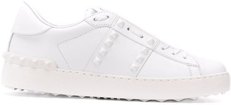 Valentino Rockstud Untitled Open Sneakers