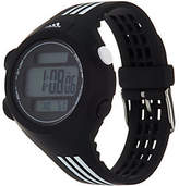 adidas Unisex Black & White Resin Sport Watch -Questra