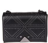 Emporio Armani Studded Shoulder Bag