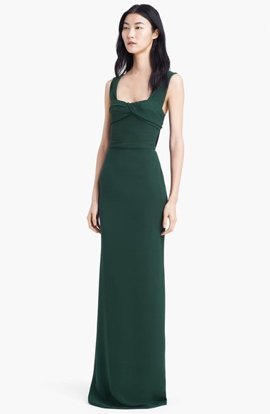 Burberry Double Georgette Gown