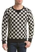 Scotch & Soda Checkerboard Crewneck Sweatshirt.