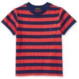 Ralph Lauren Little Boys Striped Cotton Tee