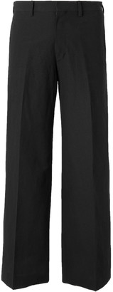 SASQUATCHfabrix. Cropped Wool-Blend Suit Trousers