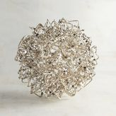 Pier 1 Imports Champagne Wire Decorative Sphere