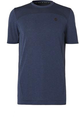 Under Armour Ua Rush Seamless Melange Stretch-Jersey T-Shirt