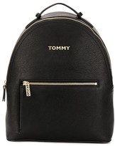 Tommy Hilfiger logo strap backpack