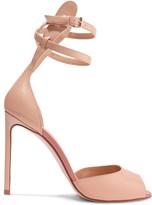 Francesco Russo Leather Sandals - Beige