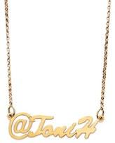 Argentovivo Personalized Name Pendant Necklace