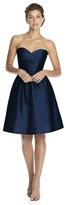 Alfred Sung D542 Bridesmaid Dress in Midnight