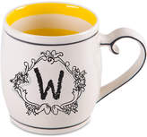 "Home Essentials Monogram ""W"" Mug"
