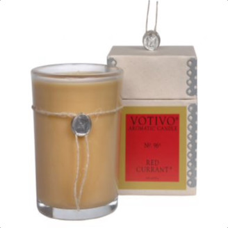 The West Village - Aromatic Red Currant Candle - Brown