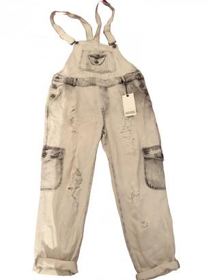 Zara Grey Denim - Jeans Jumpsuit for Women