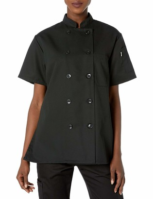 Uncommon Threads Unisex-Adults Plus Size Tahoe Ladies Sht SLV Chef Coat