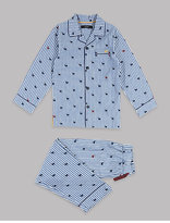 Autograph Pure Cotton Reindeer Pyjamas (1-16 Years)