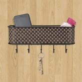 Basket Weave Letter Rack (Set of 2) Home Basics