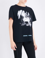 Off-White Screaming Girl cotton-jersey T-shirt