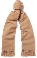 Acne Studios Canada Virgin Wool Scarf - Camel