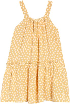 Billabong Kids' Butterscotch Polka Dot Sundress
