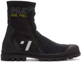 Maison Margiela Black High-Top Sneakers