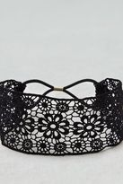 American Eagle Outfitters AE Black Lace Headband