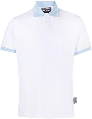 Versace Jeans Couture Logo Collar Polo Shirt