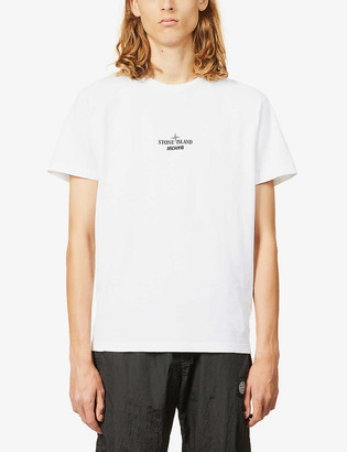Stone Island Archivo graphic-print cotton-jersey T-shirt
