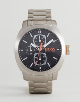 BOSS ORANGE By Hugo Boss 1550029 Capetown Bracelet Watch In Silver