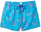 Paul Smith Slim-Fit Mid-Length Frog-Print Swim Shorts