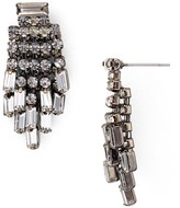 Aqua Indiana Fringe Stud Earrings - 100% Exclusive