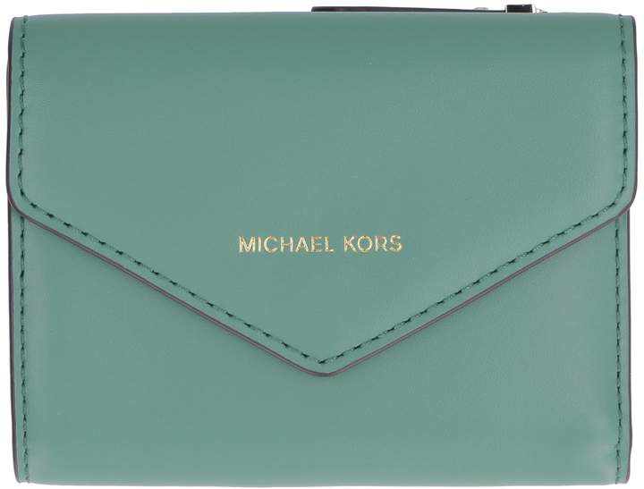 e3213a15f6f3 Michael Kors Green Leather Handbags - ShopStyle