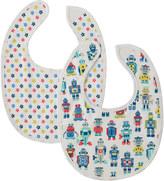 Cath Kidston Robots Baby Bibs