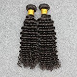 Vinsteen Best Quality Hair 2pcs/Lot 8''-30'' Brazilian Virgin Deep Wave Unprocessed Virgin Human Hair Hot Sale No Shedding&Tangle Free (10'' 10'')