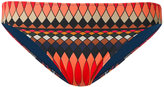 Paul Smith geometric print bikini bottoms - women - Polyamide/Spandex/Elastane - S
