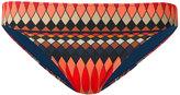 Paul Smith geometric print bikini bottoms
