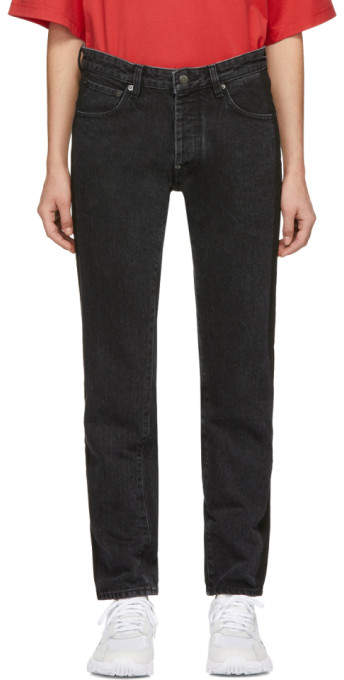 Ambush Black Nobo Stripe Jeans