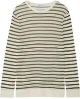 Alexander Wang Striped Jersey Top - small