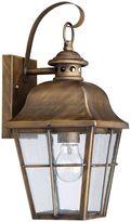 Quoziel Millhouse 16-Inch Ceiling Lantern in Bronze