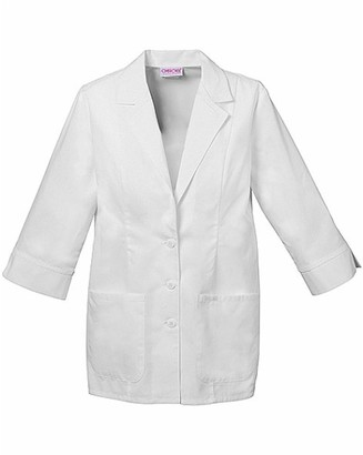 Cherokee Women's Scrubs 3/4 Sleeve 29-Inch Lab Coat