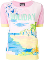 Moschino Holiday print T-shirt