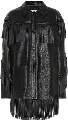 Philosophy di Lorenzo Serafini Faux-leather jacket