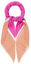 Loro Piana Cashmere & Silk-Blend Printed Scarf