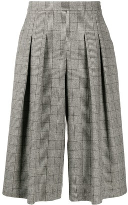 Boutique Moschino High Waist Pleated Culottes