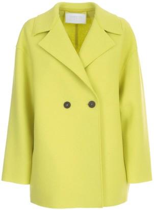 Harris Wharf London Women Dropped Shoulder D.b. Jacket Pressed Wool