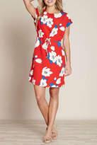 Yumi Floral Drawstring Dress