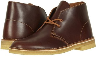 Clarks Desert Boot (Tan Leather) Men's Boots
